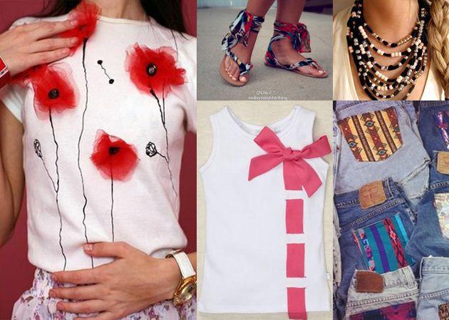 Moda fai-da-te: idee per riciclare o personalizzare vecchi capi e accessori---altered jean skirt tutorial