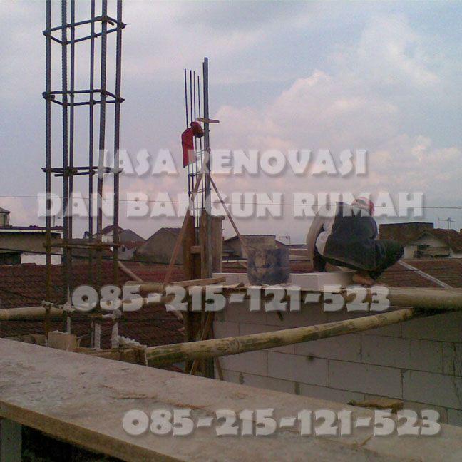 Solusi tepat untuk membangun rumah dan merenovasi rumah anda, dengan menghubungi Team Jasa Renovasi dan Bangun Rumah di Bandung Hub 085215121523 via sms/tlp/wa. Dapat berupa borongan / harian / upah kerja (include bahan). Melayani jasa panggilan untuk desain / denah rumah, hitung RAB, pembangunan dari nol, dan renovasi / perbaikan rumah anda sepeti :  * Perbaikan atap bocor, plafond jebol/rembes/berjamur, dll * Perbaikan keramik retak, pasang keramik dinding/lantai, granit,dll * Bongkar…