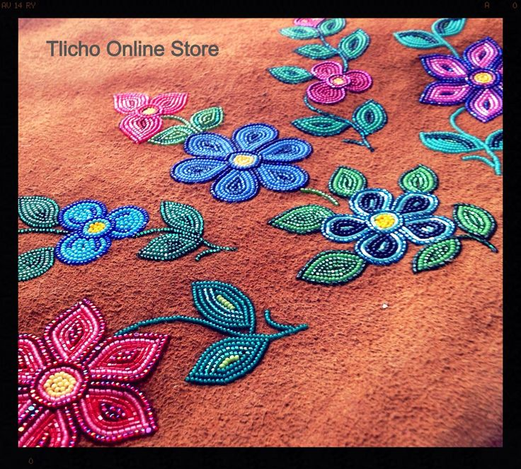 Happy Sunday Everyone. Sharing a photo of bead work done by my Aunt. Beautiful!