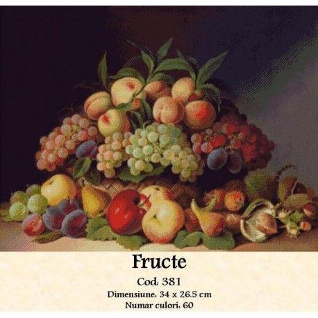 Model goblen Fructe http://set-goblen.ro/flori/3655-fructe.html