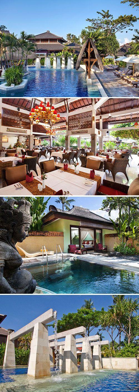 In de populaire badplaats Kuta op Bali vind je het driesterren Rama Beach Resort & Villas. Geniet van een romantische vakantie met je partner of maak er een geslaagde familievakantie van. Dankzij de wellnessfaciliteiten en heerlijke tuin met zwembad kom je volledig tot rust.