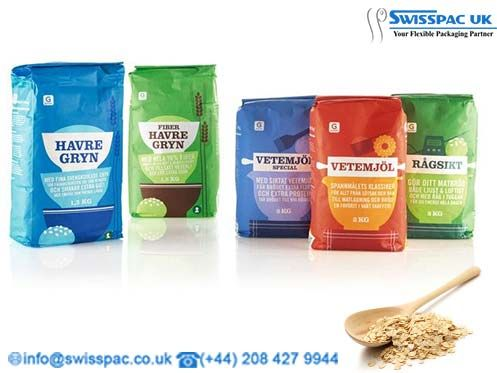 We provide flexible #OatsPackaging bags for packaging oatmeal flakes, various…