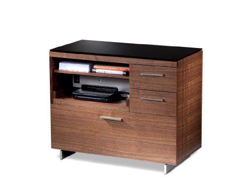 BDI Sequel Multifunction Cabinet - Walnut BDI Furniture