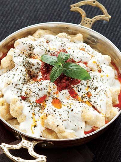 Yoğurtlu sıkma Tarifi - Türk Mutfağı Yemekleri - Yemek Tarifleri