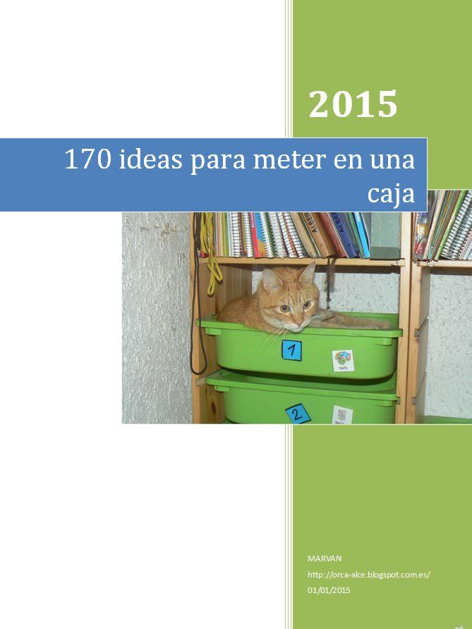 Orca: observar, recordar, crecer y aprender: 170 ideas para meter en una caja