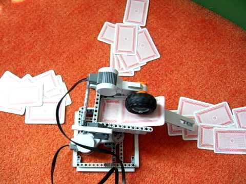 Camera Lego Nxt : Lego mindstorms nxt card dealer youtube ashton s leggos