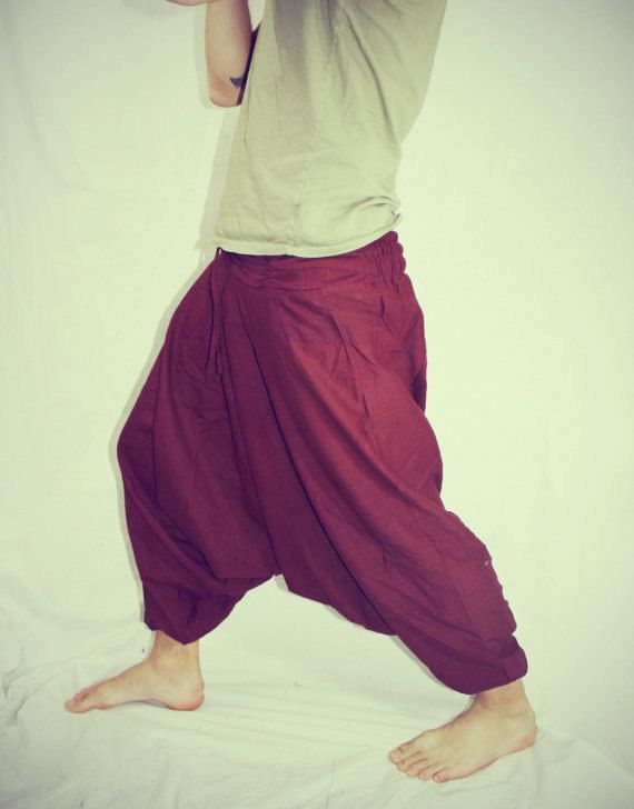 Handmade Solid Harem Pants Gypsy Pants Pastels by Cloud9Jewels