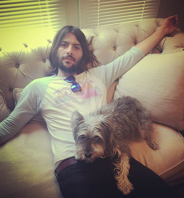 "Robert Schwartzman ""Chillaxing with Trixie"""