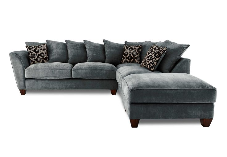 Rhf Scatter Back Corner Sofa Tangier Gorgeous Living Room