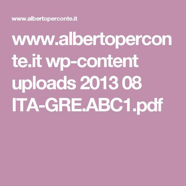 www.albertoperconte.it wp-content uploads 2013 08 ITA-GRE.ABC1.pdf