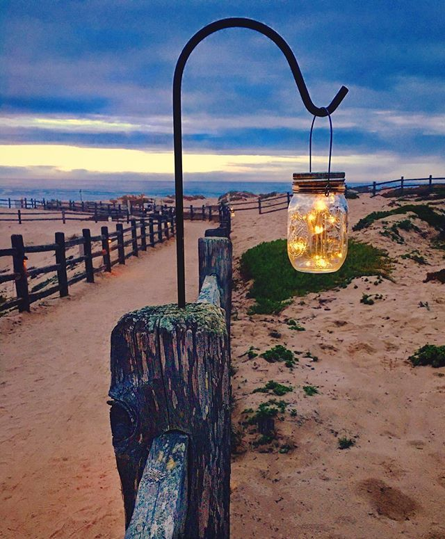 #ca1 #pch #marina #marinaca #beach #sanctuarybeachresort #sandcity #california #californiacoast #pacific #sunset #mellow #dusk #travel #explore #wanderlust #beachlife #path #light #firefly #fireflies #lighting #daysend #relax #holiday #vacation #marinalocals #montereybaylocals - posted by Mark https://www.instagram.com/zipping12 - See more of Marina, CA at http://marinalocals.com