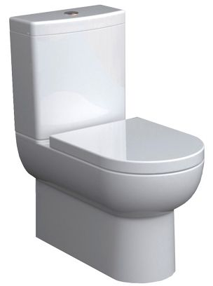 Zoom Kyo Back-to-Wall Toilet Suite Back Inlet - ABL Tile & Bathroom Centre