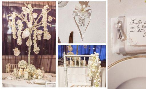 Weddings Luxury Flower Design Andrea Russo scuola Floristil wedding planner Antonietta Patruno e Giorgia De Stefano