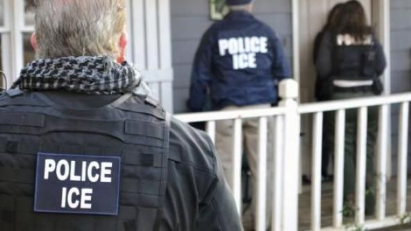 Who needs the Travel Ban when we have our great ICE officers scooping up the immigrant/migrant trash allowed into our country by Obama? Great job! Keep up the good work.  The Washington TimesFederal deportation officers swarmed sanctuary cities this week, netting nearly 500 immigrants in a series of targeted operations designed to go after people that