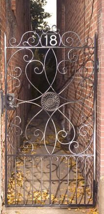 Wrought Iron Gate Fence Rails And Interiors From Shenandoah Decorative Ironworks Custom Work Stunning