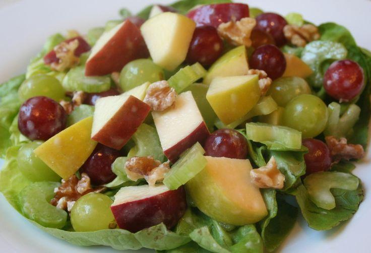Waldorf Salad .... w/ celery, grapes, yogurt, dijon mustard, honey ...