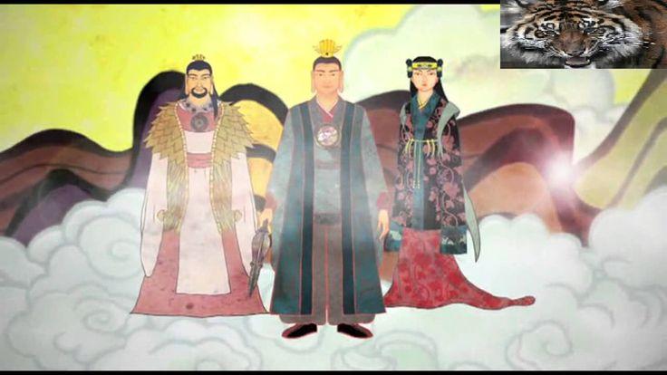 Korean founding myth story (Hwanung/Hwain/Tangun myth ) 한국의 건국 신화 이야기