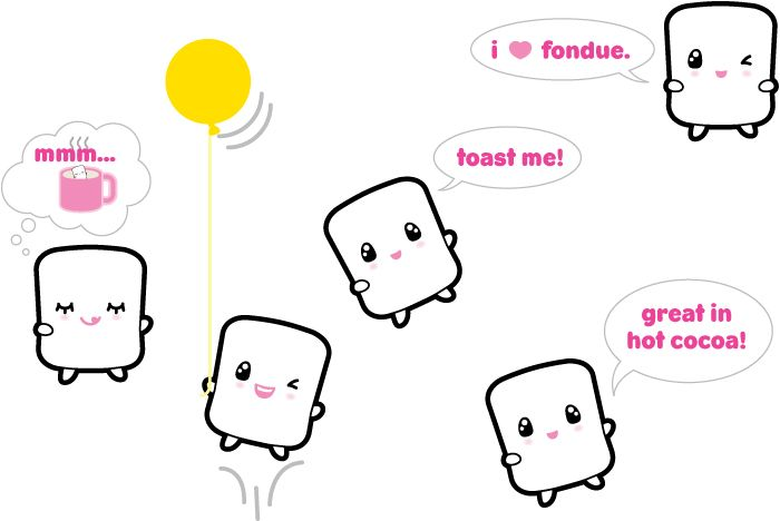 Elyon Marshmallow - Mascots