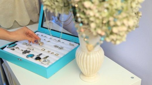 DIY Tiffany  Co Inspired Jewelry Box - Homemade Gift Ideas for Teen Girls