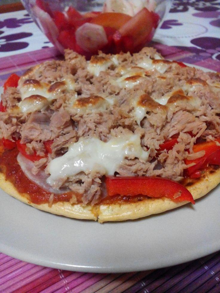 Saudável como um pêro... sem desespero!: Wrap de polvilho doce e Pizza de polvilho doce e linhaça