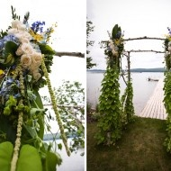 Loved the ceremony floral