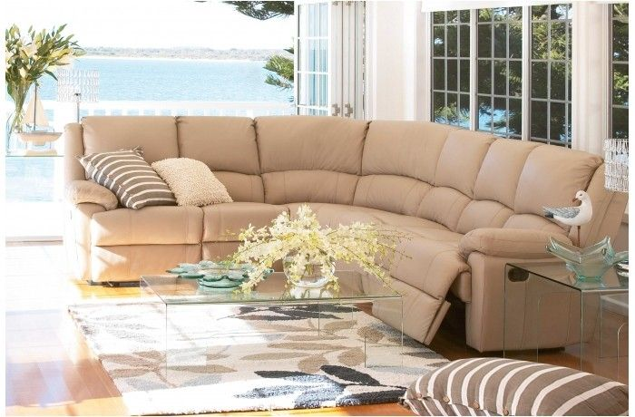 Sorrento modular recliner leather lounge suite furniture for Suite modulare