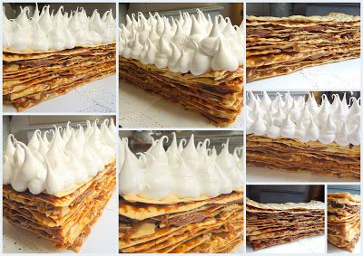 Rogel (Argentinean Wedding Cake) - dulce de leche, puff pastry and Italian meringue. #yummy #boyfriendapproved