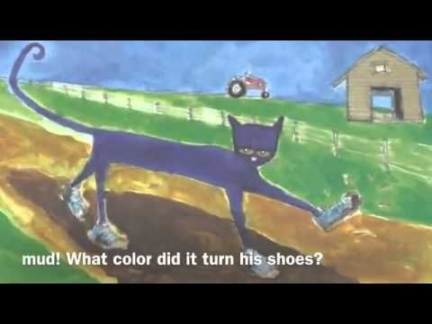 Pete the Cat I love my white shoes   YouTube
