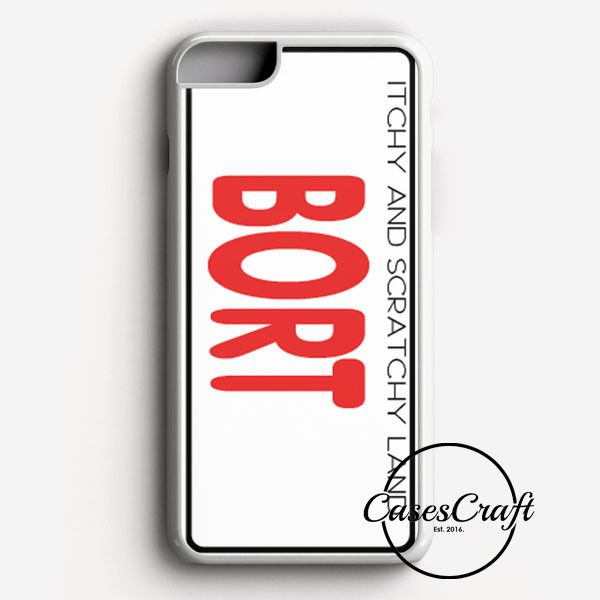 Bort License Plate Cover iPhone 7 Case   casescraft
