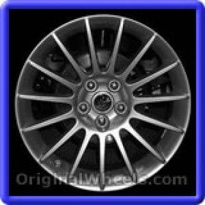 Chrysler 300M 2002 Wheels & Rims Hollander #2169  #Chrysler #300 #Chrysler300M #2002 #Wheels #Rims #Stock #Factory #Original #OEM #OE #Steel #Alloy #Used
