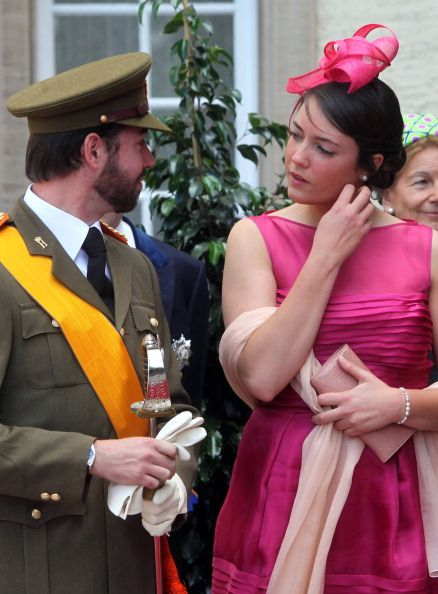 Prince Guillaume and Princess Alexandra