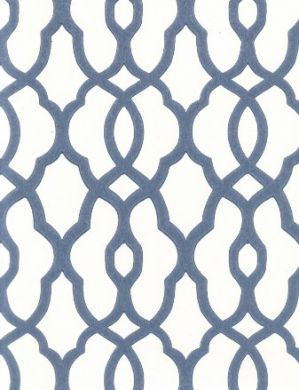 geometric wallpaper blue and white | ... 705) - Select Wallpaper | Designer Wallpapers Direct Wallcoverings UK