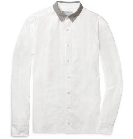 KolorJersey-Collar Penguin-Patterned Cotton ShirtMen Clothing, Penguins Pattern Cotton, Casual Shirts, Men'S Clothing, Cotton Shirts, Plain Shirts, Dresses Codes