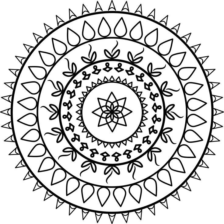 33 best Mandala images on Pinterest  Draw Mandalas and Public domain