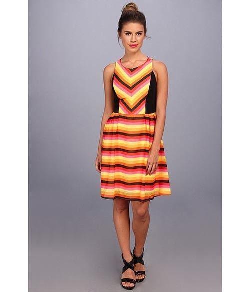 Coconnino By Eva Franco Lynn Dress In Summer Taffy New $128 Size Medium #EvaFranco #Sheath #Casual