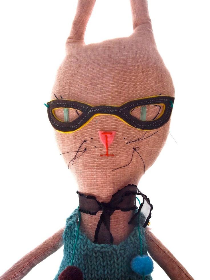 Rabbit Rag doll  - Jess Quinn
