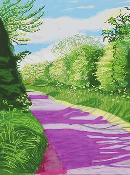 David Hockney, 'The Arrival of Spring in Woldgate, East Yorkshire in 2011 (twenty eleven) - 31 May, No. 2,' 2011