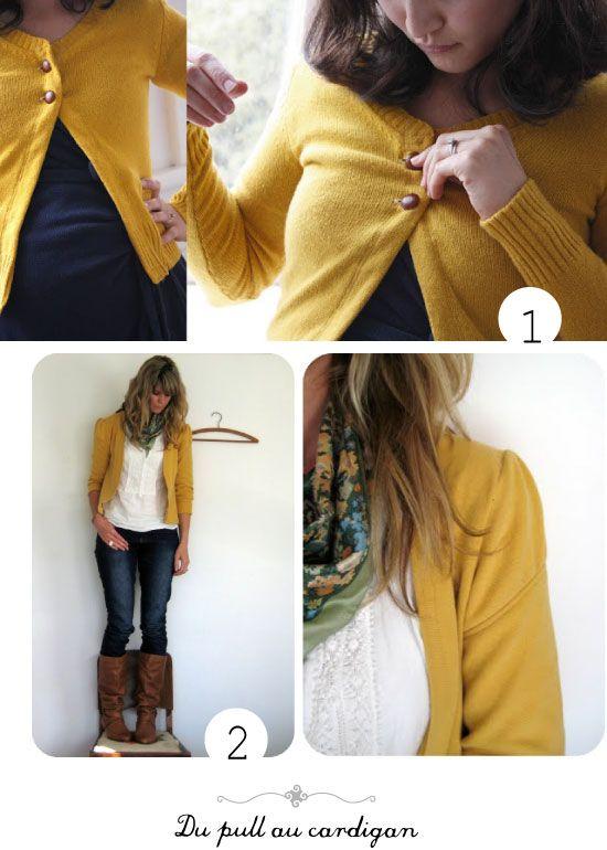Préférence 197 best Couture - Recyclage Vêtements images on Pinterest  SK85