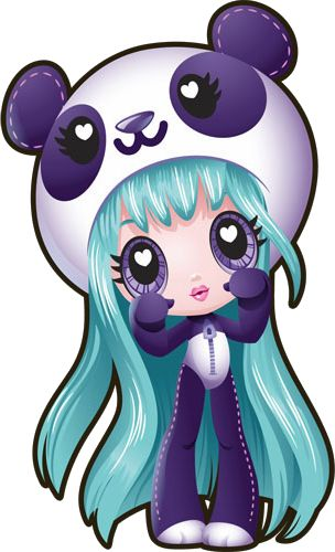 Amanda Panda Pop Vector- Kawaii Crush by daring-dreams.deviantart.com on @deviantART