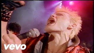 """Rebel Yell"" - Billy Idol Video - YouTube"