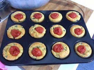 Profumo in Cucina: Ricetta Muffin salati ricotta e zucchine