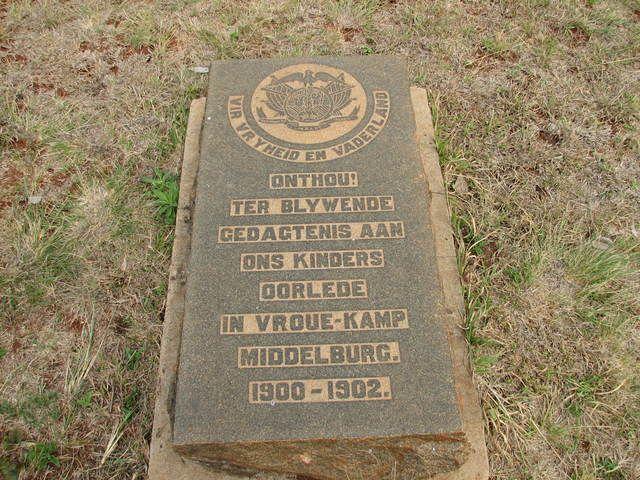 Photos from Anglo Boere Oorlog/Boer War (1899-1902) MIDDELBURG Camp/Kamp