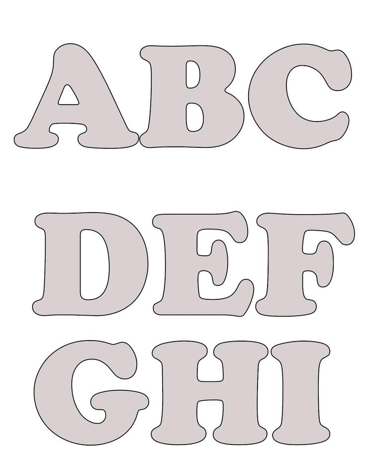 Blogg da Mirian: Mais moldes de letras do alfabeto com passo a passo