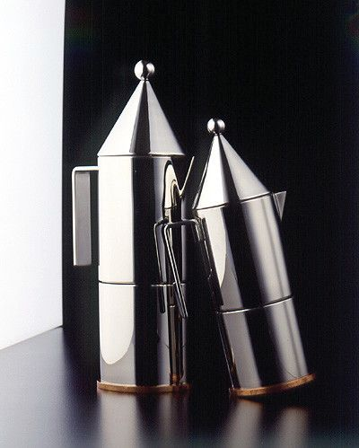 Cookinglife - Alessi Percolator 90002/6 La Conica Door Aldo Rossi