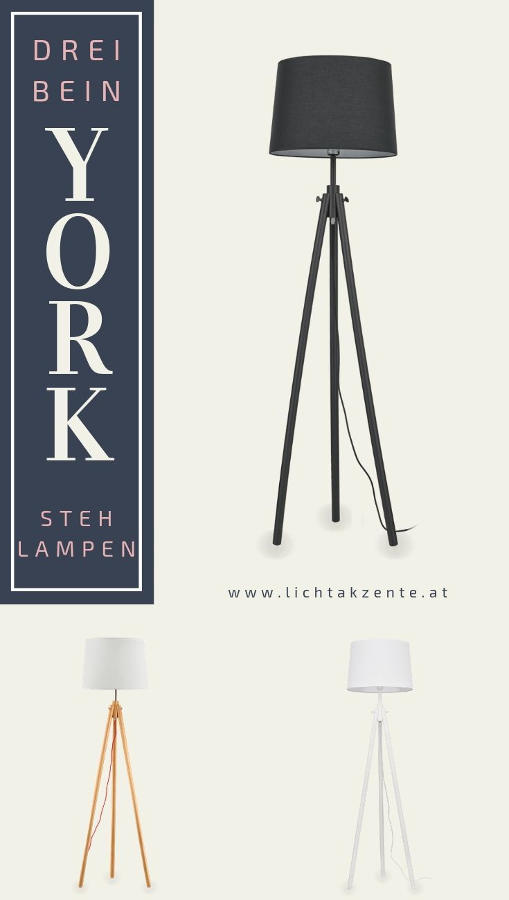 Ideal Lux Dreibein Stehlampe York Stehlampe Stehlampe Wohnzimmer Stehlampe Holz