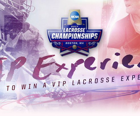 Win a $2,510.00 travel voucher, two NCAA Lacrosse Championships Mega Tickets, two Optum Club Passes, Restaurant Voucher, Concession Voucher, VIP Parking, STX Gear, and a lacrosse swag bag subject to availability.     Limit one entry per person.