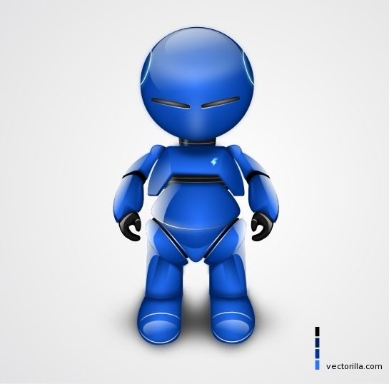Vector Robot Image, under Graphics, Vector illustrations Hey guys, today at Vectorilla you get a nice image of robot in vector format that you shall probably find very useful! So check out the image preview below and waist no more time! Vector robot comes in svg, pdf and eps format so you can easily edit the image. It's free for personal and commercial usage.: Vector Illustrations, Illustrations Inspiration, Illustrations Hey