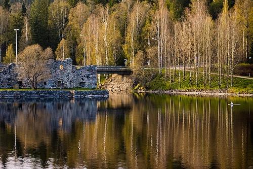 Kajaani Castle ruins by jahu