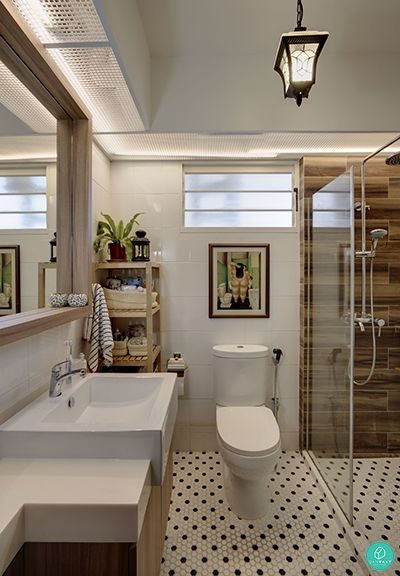 10 most popular homes hdbcondo in singapore 2015 scandinavian bathroomeclectic - Eclectic Bathroom Interior