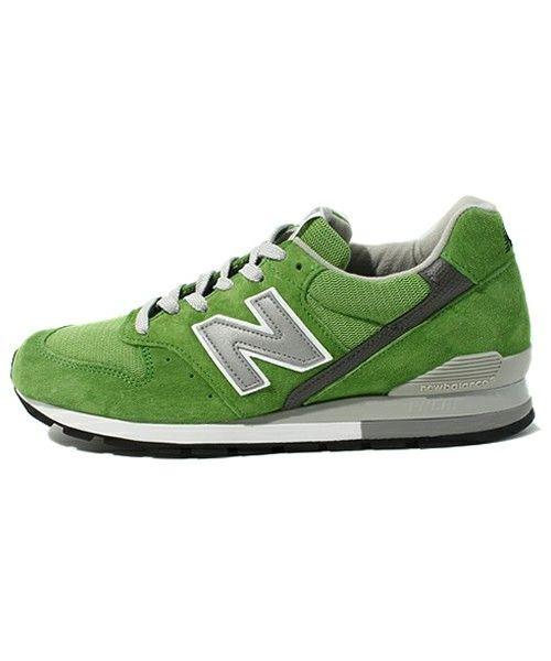 nico's choice(footwear)(ニコズチョイス(フットウェア))のNEW BALANCE-M996(スニーカー) グリーン